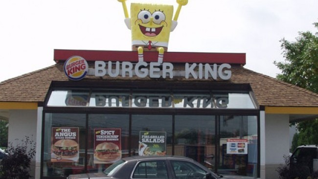 Burger King Inflatables